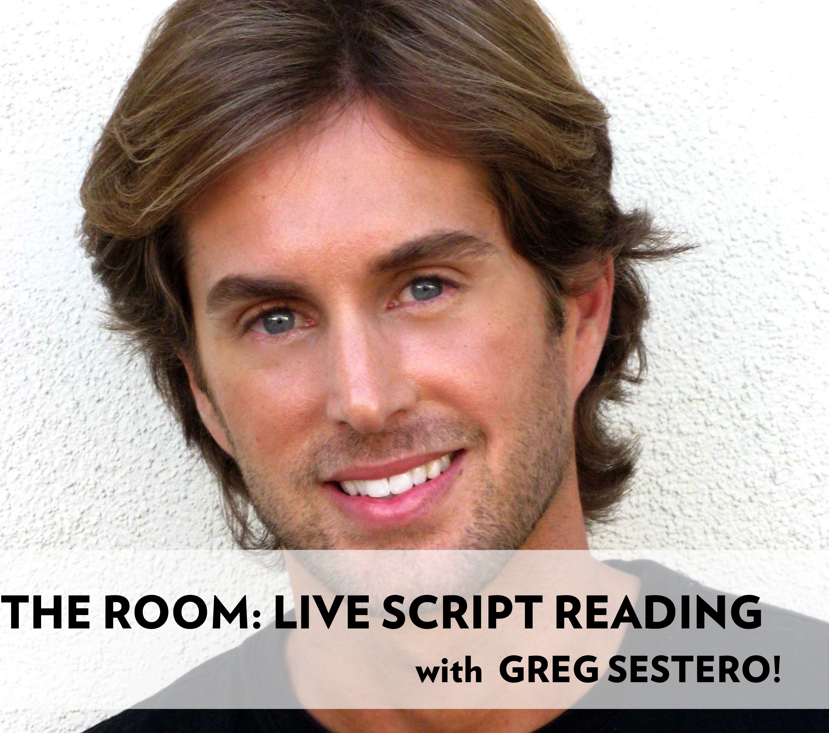 Poster for The Room Live Script Reading