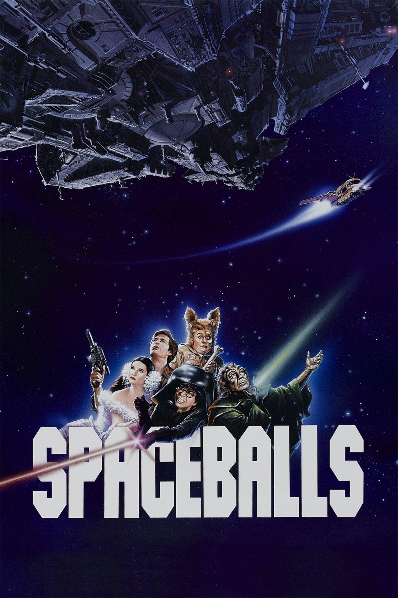 Poster for Spaceballs