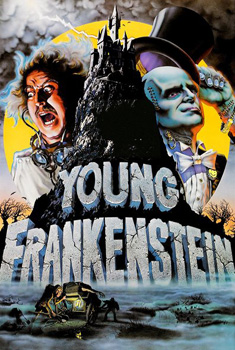 Poster for Young Frankenstein (Cereal Cinema)