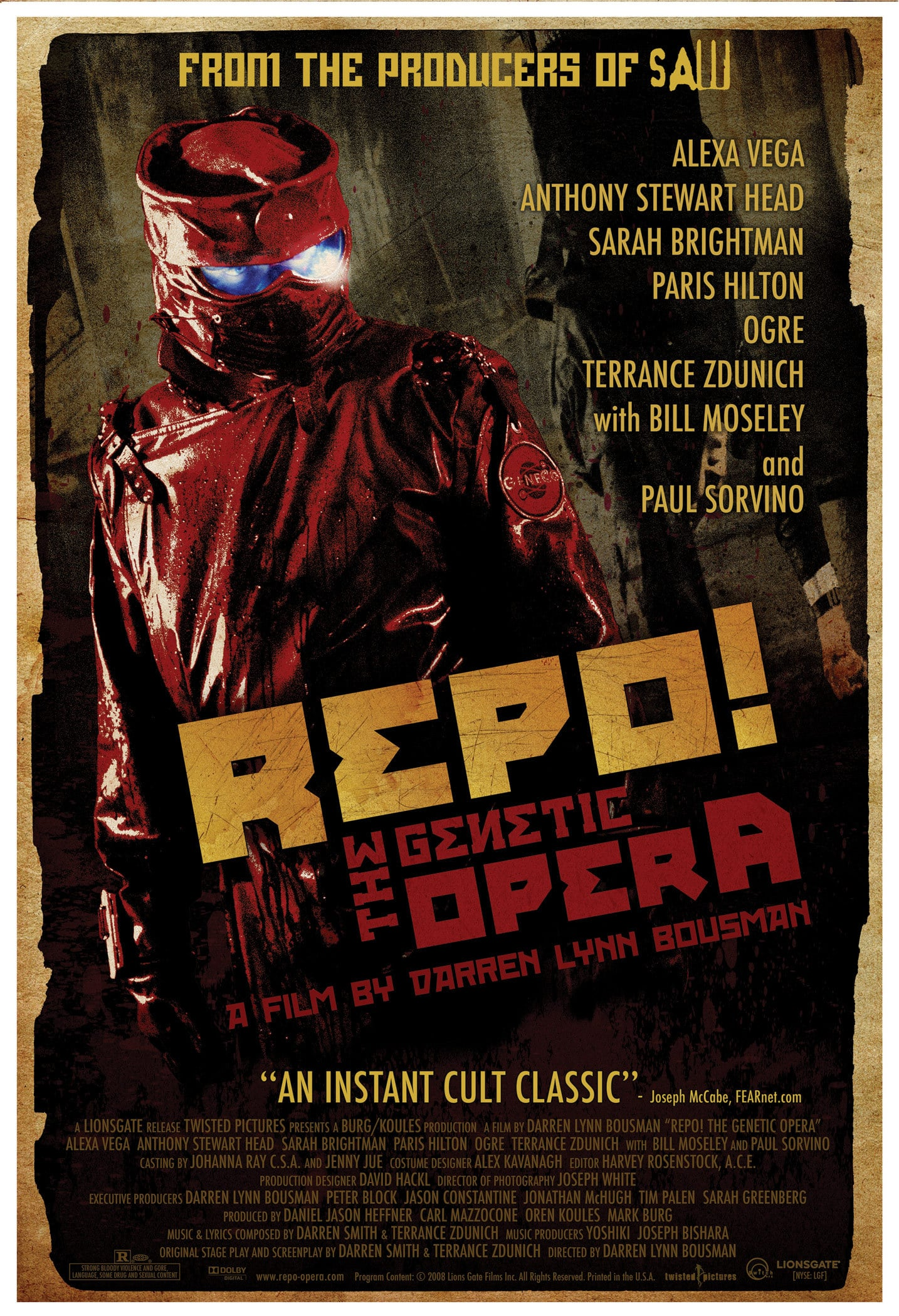 Poster for Repo! The Genetic Opera