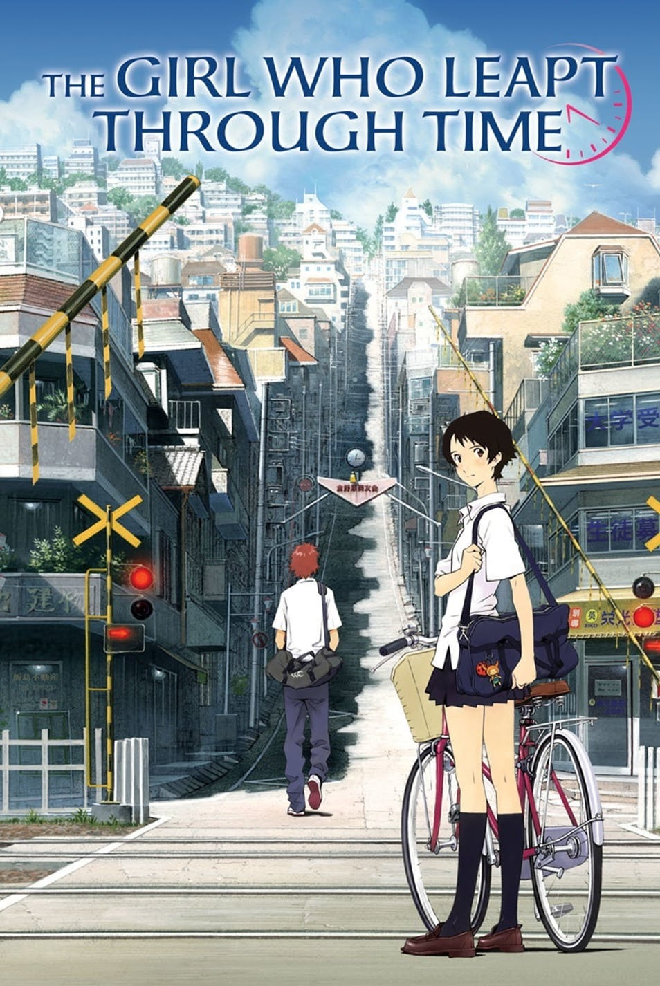 Poster for The Girl Who Leapt Through Time
