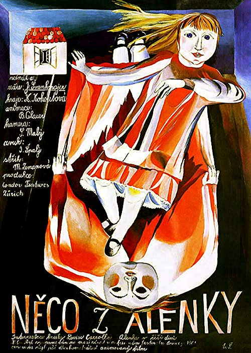 Poster for Alice (Neco Z Alenky)