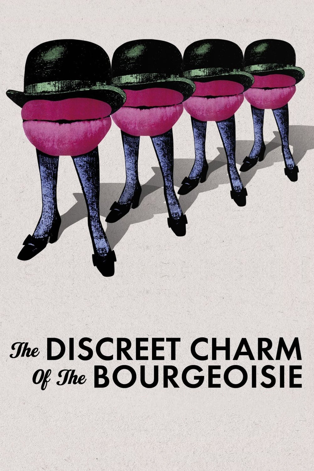 Poster for Discreet Charm of the Bourgeoisie (Le Charme discret de la bourgeoisie), Th