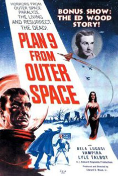 Poster for Plan 9 From Outer Space