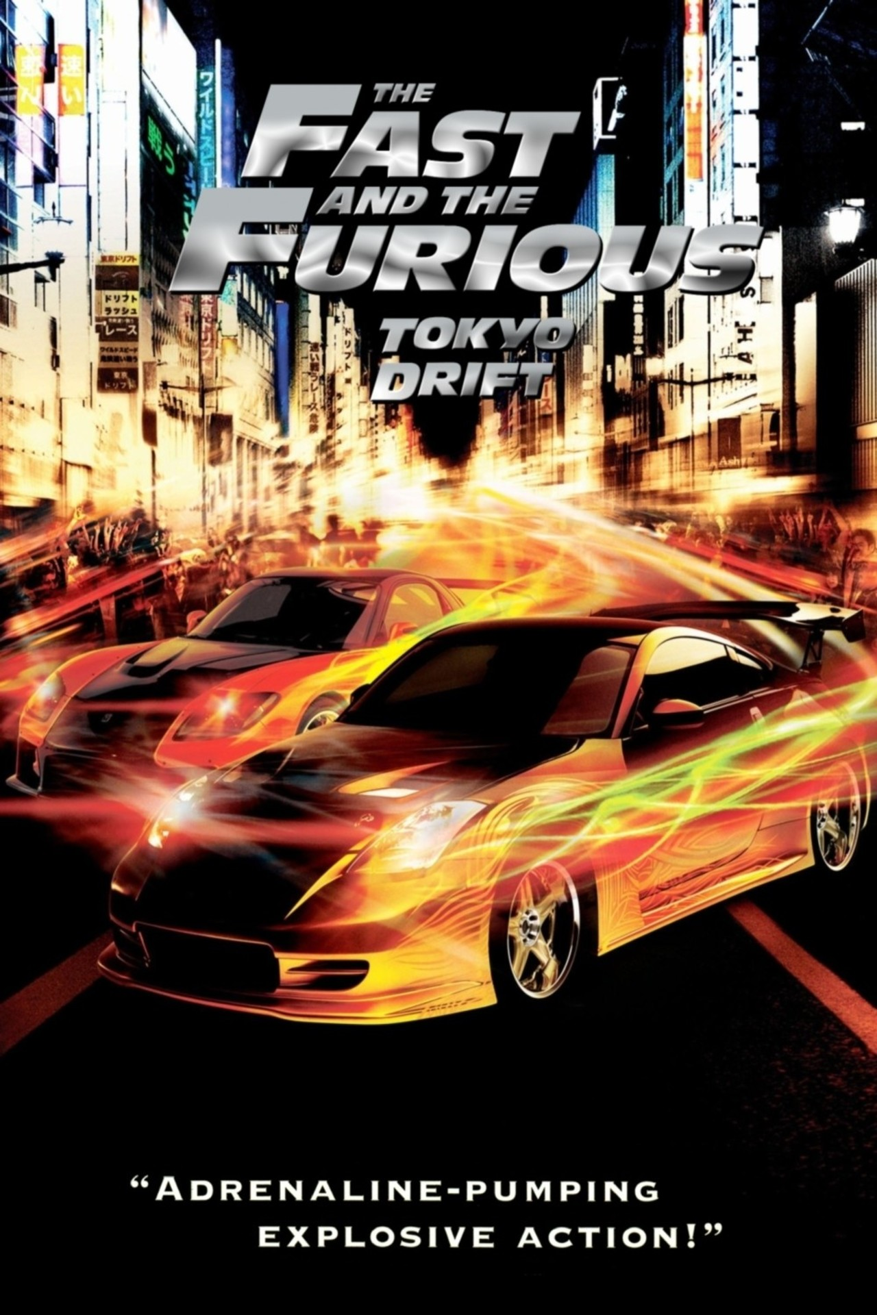 Poster for The Fast and the Furious: Tokyo Drift