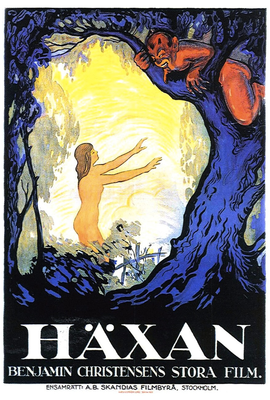 Poster for Haxan: Witchcraft Through the Ages ()