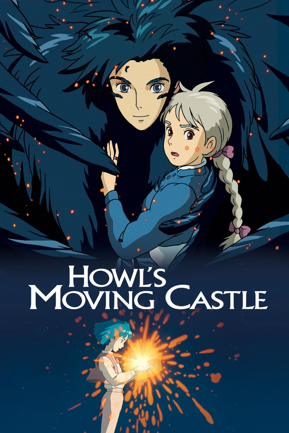 Poster for Howl's Moving Castle (English Dubbed)