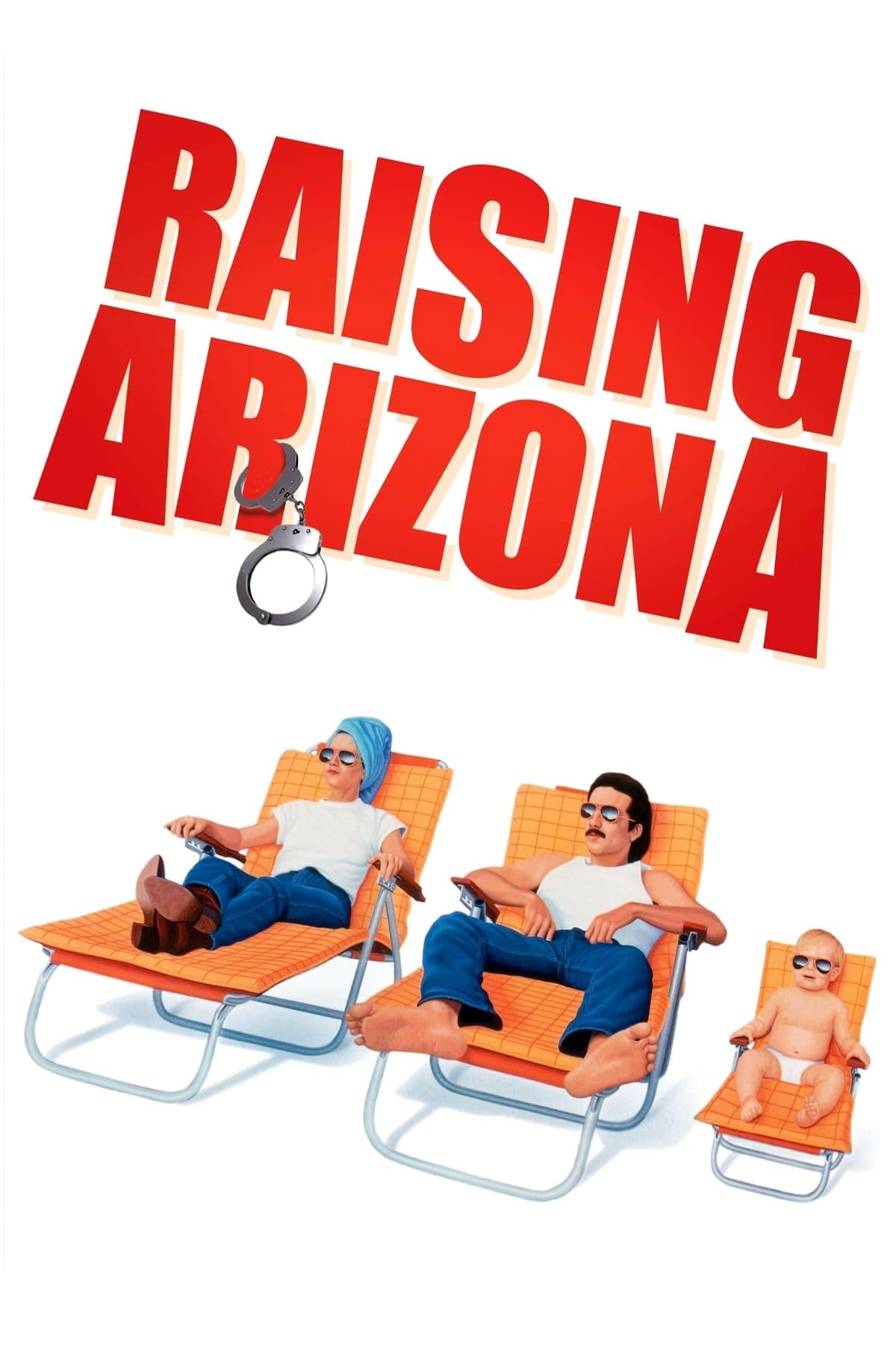Poster for Raising Arizona