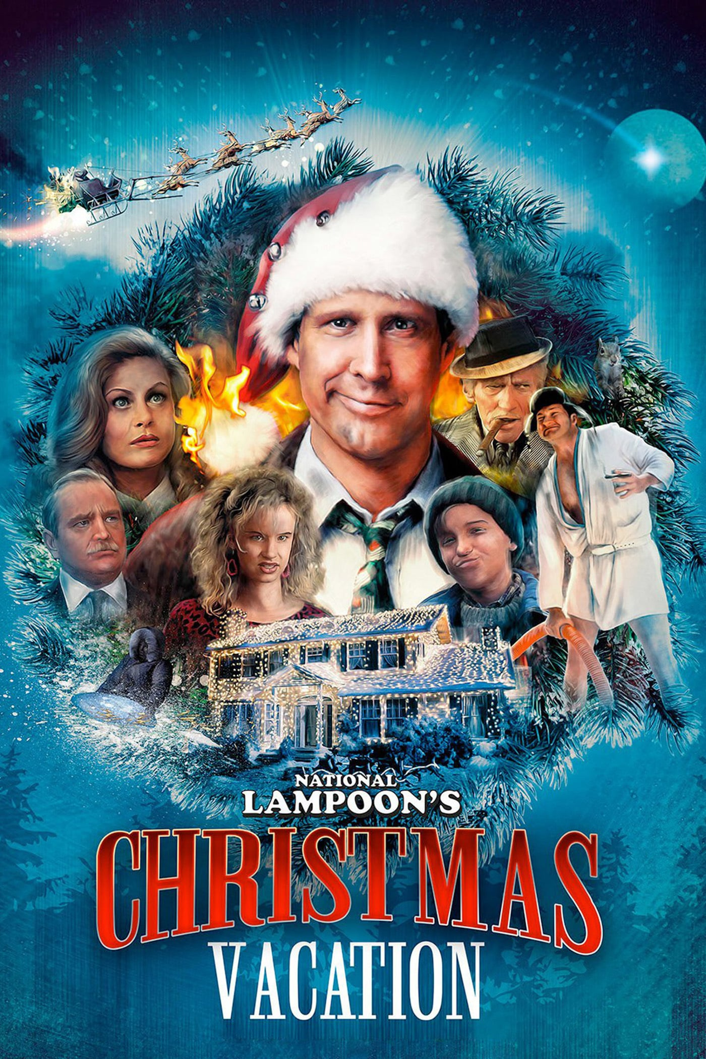 Poster for National Lampoon's Christmas Vacation (with Hot Chocolate)