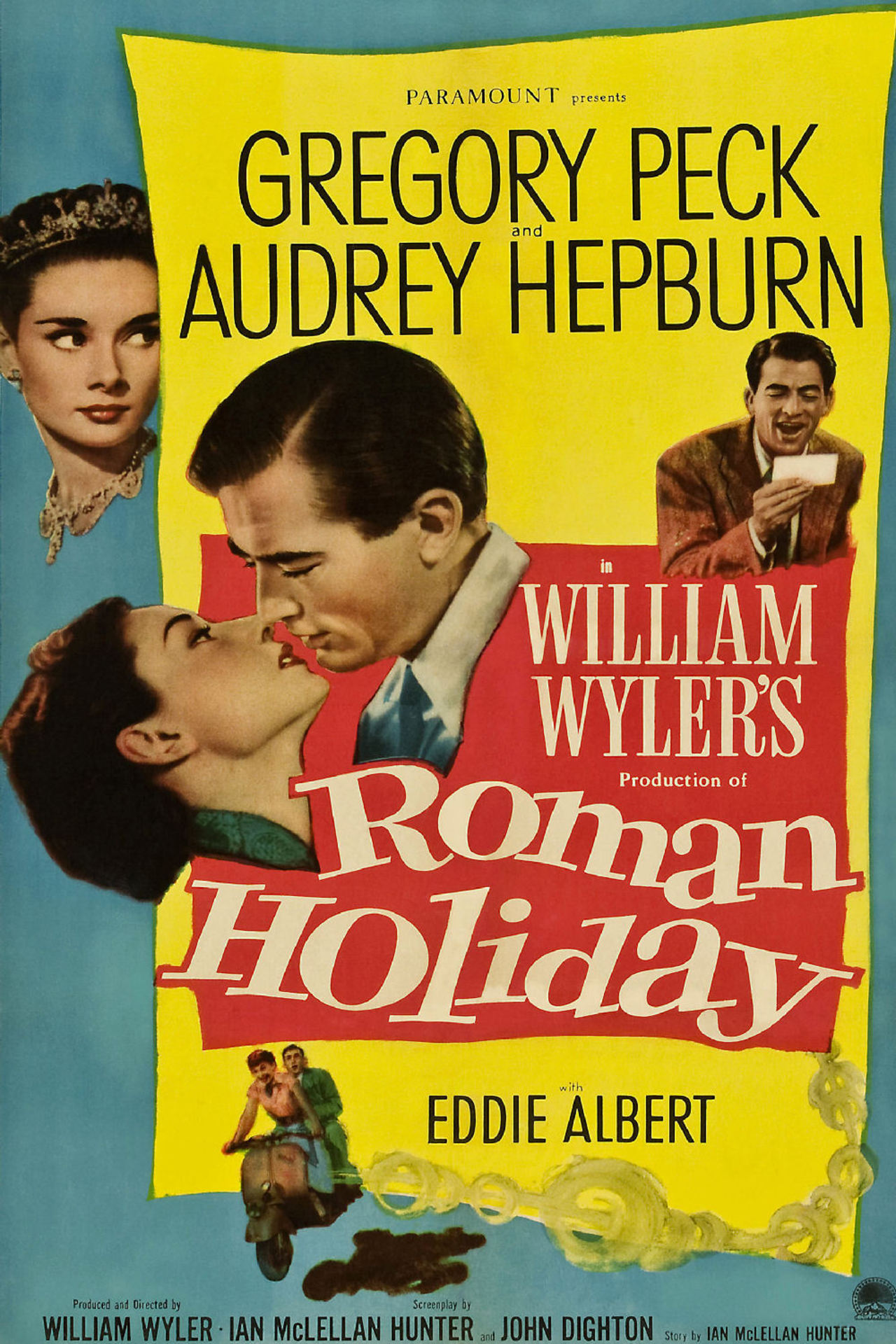 Poster for Roman Holiday