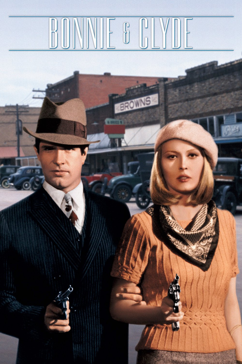 Poster for Bonnie and Clyde