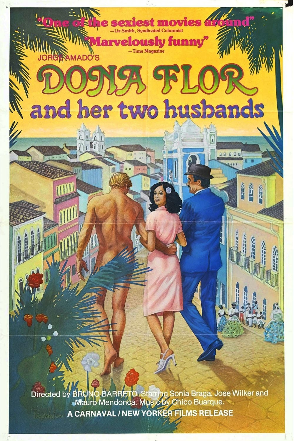 Poster for Dona Flor And Her Two Husbands