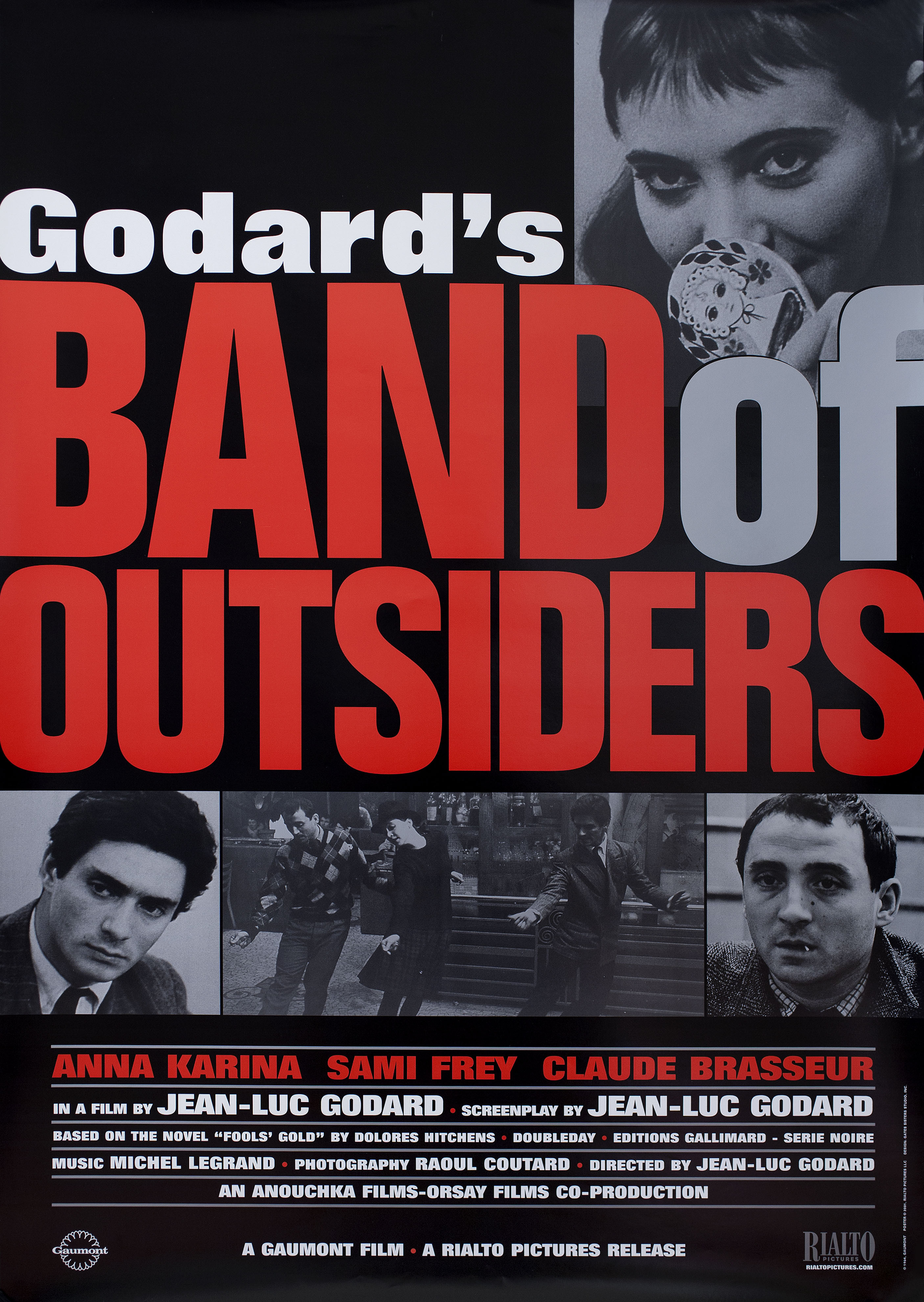 Poster for Band of Outsiders