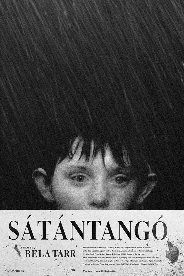 Poster for Sátántangó