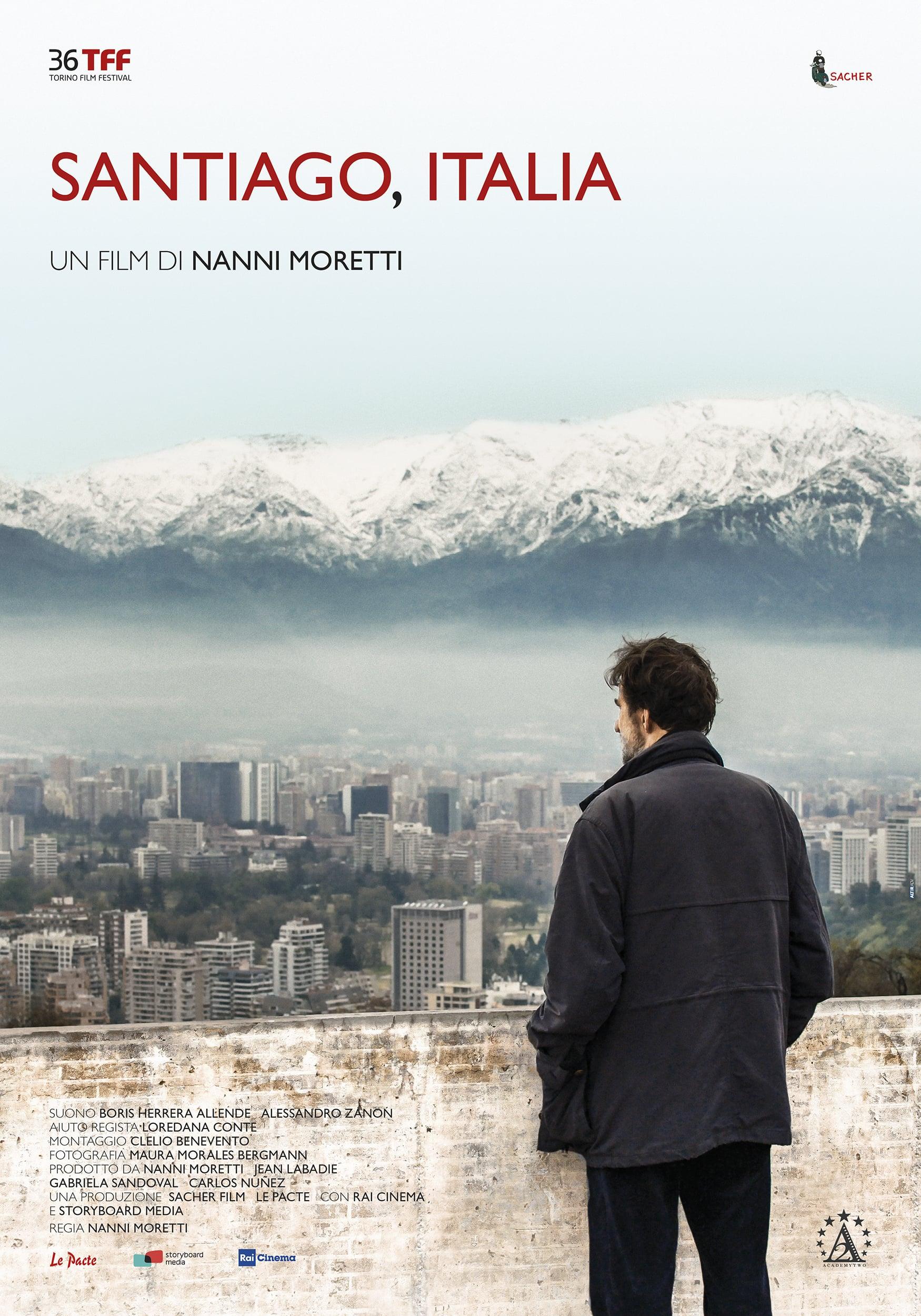 Poster for Santiago, Italia