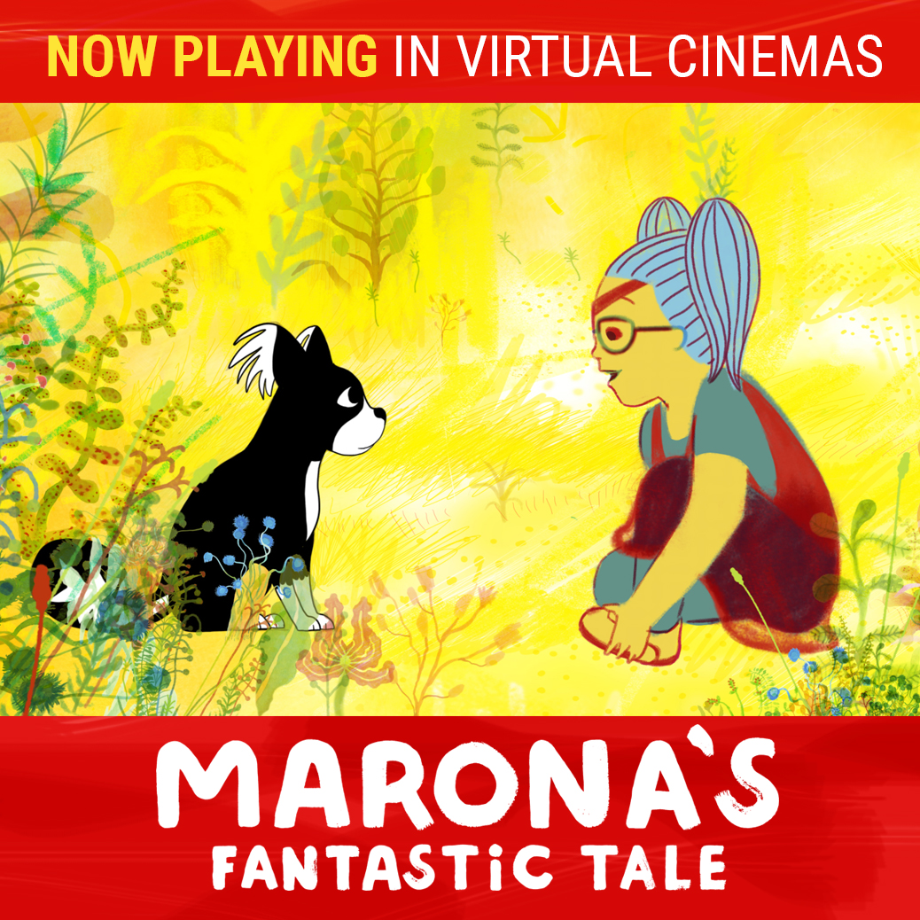 Poster for Marona's Fantastic Tale