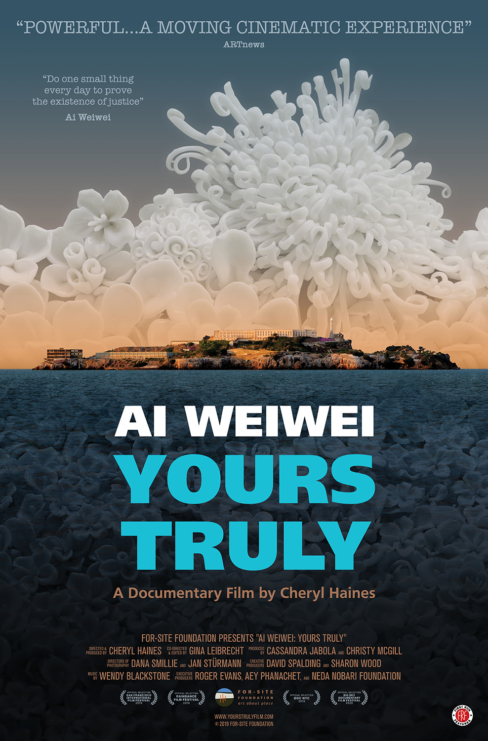Poster for Ai Weiwei: Yours Truly