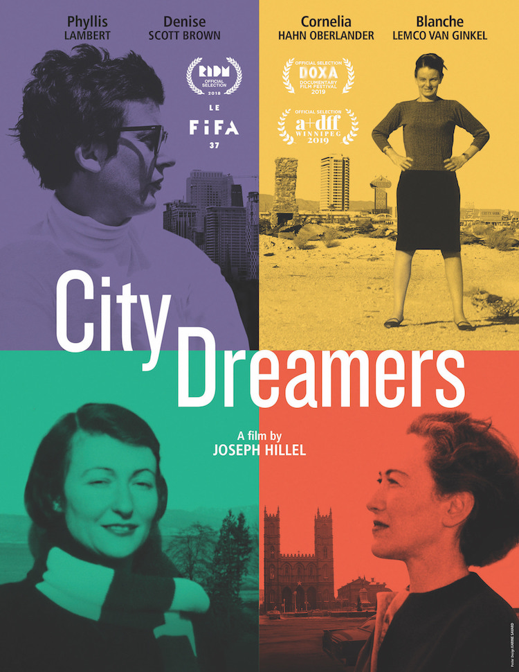 Poster for City Dreamers (presented by PHLF)