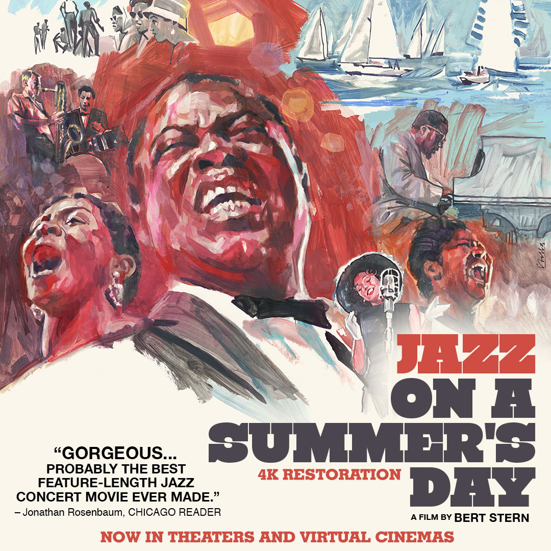 Poster for Jazz On A Summer's Day (New 4K Restoration)