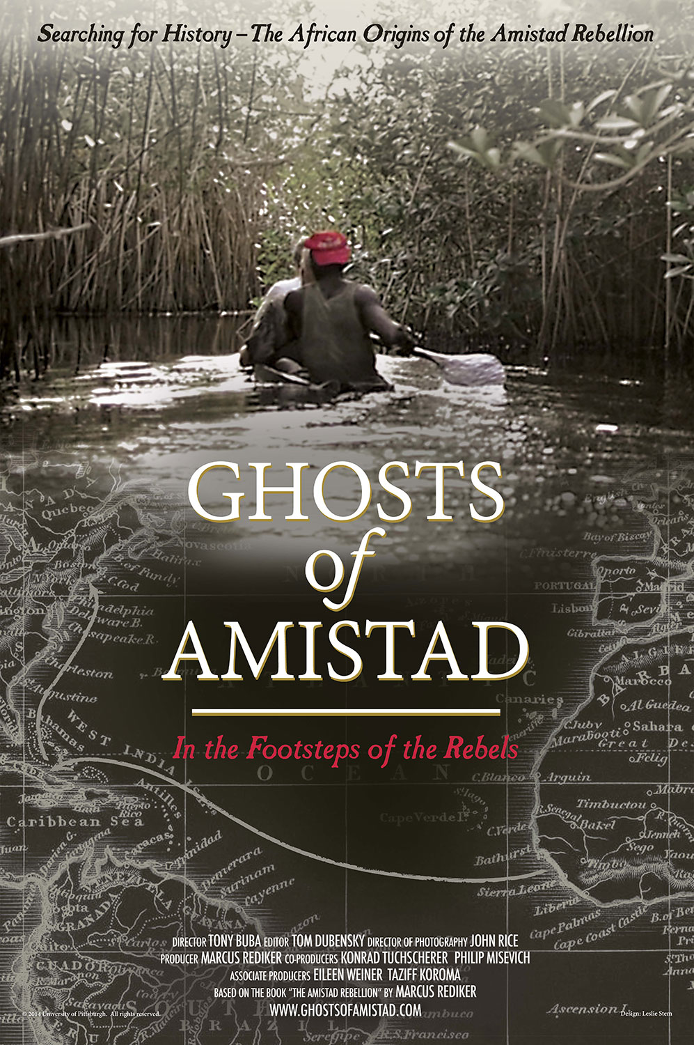 Poster for Ghosts of Amistad