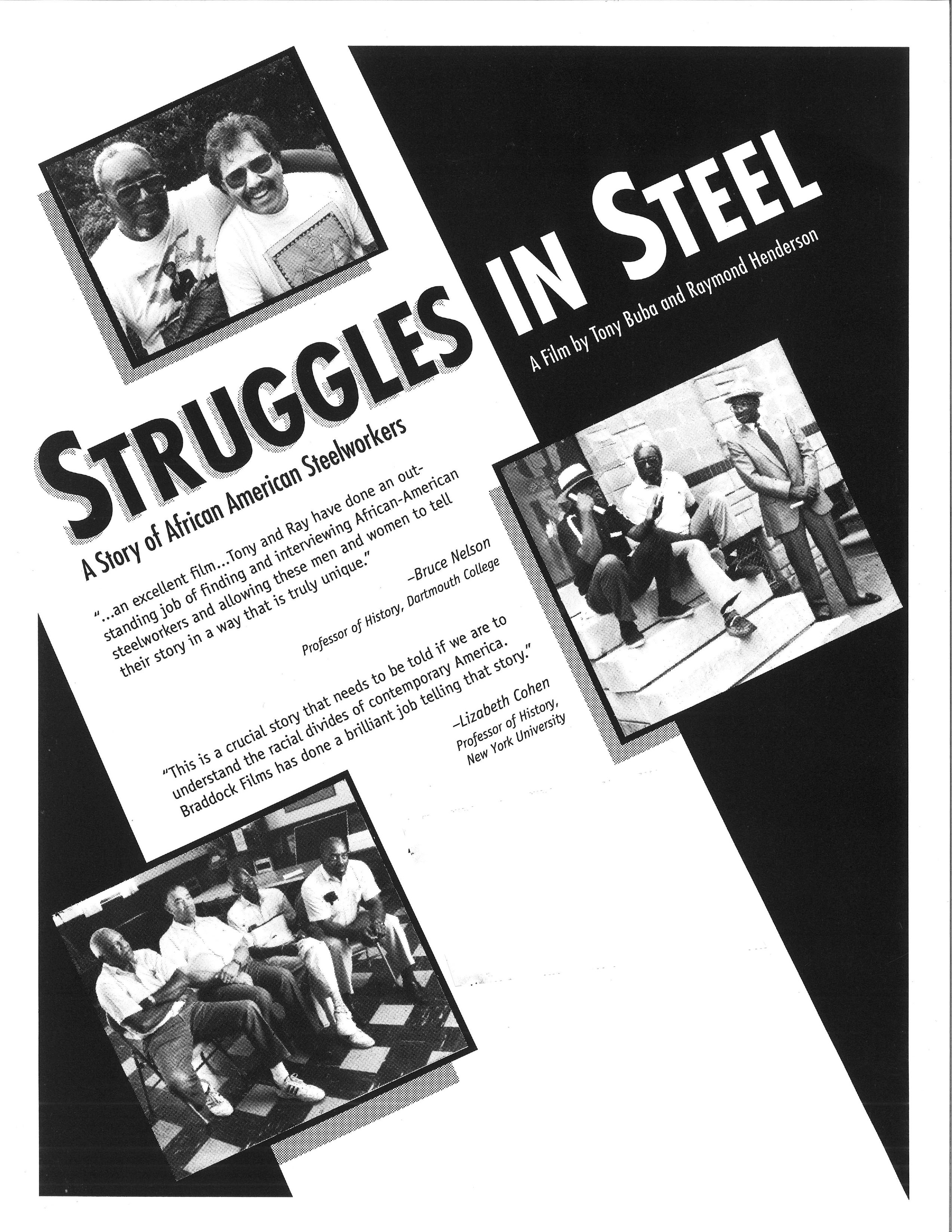 Poster for Struggles in Steel (Extended Edition)