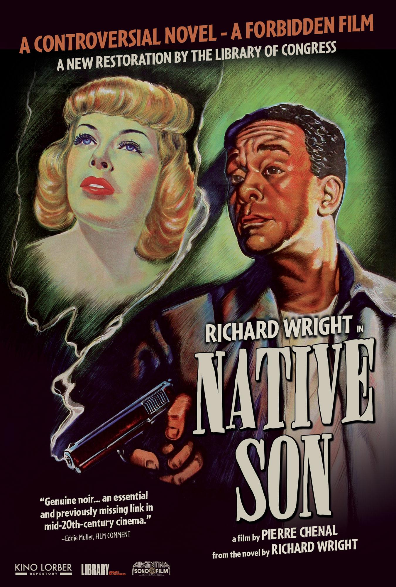 Poster for Native Son (New Restoration – 1951 Original)