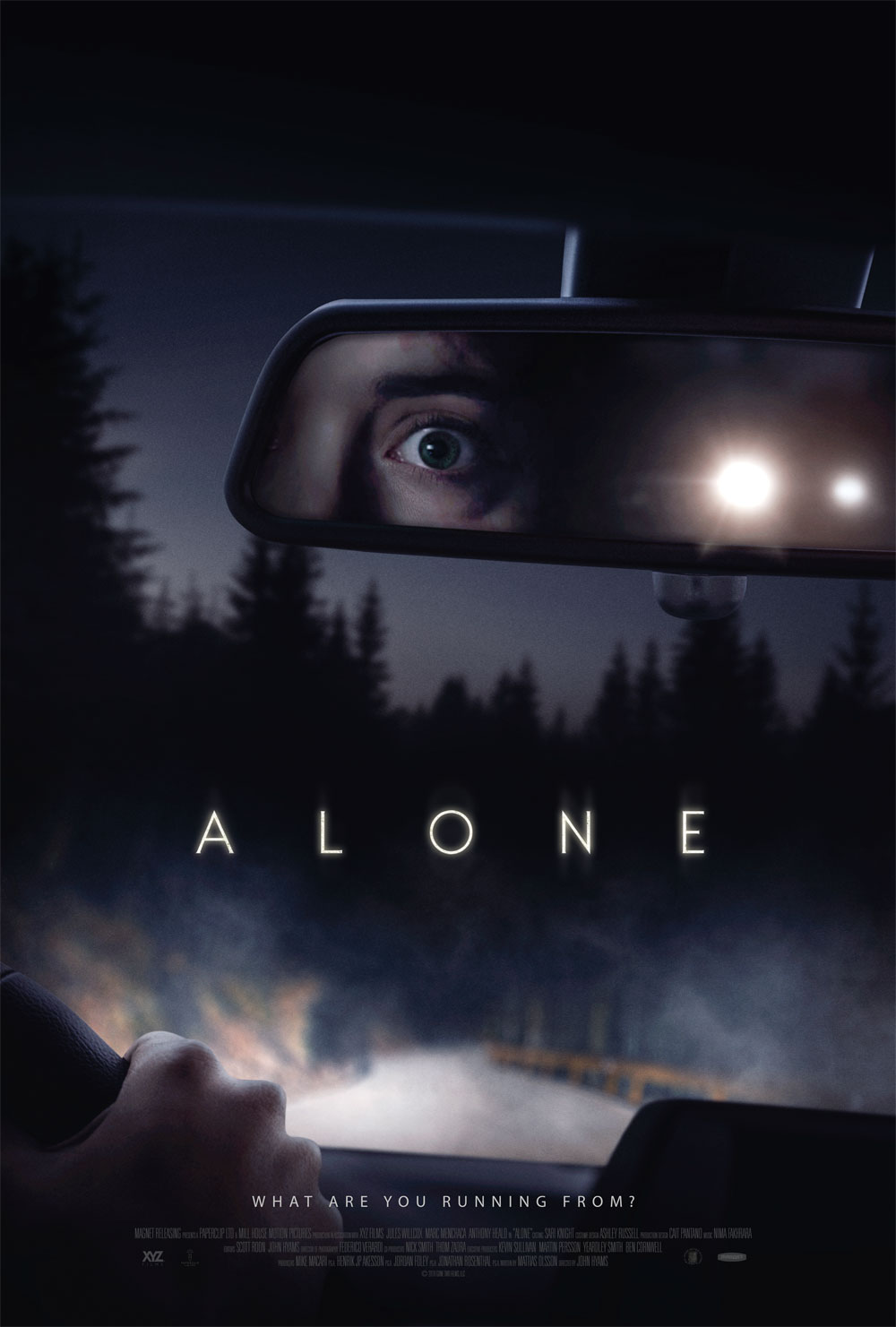Poster for Alone (2020)