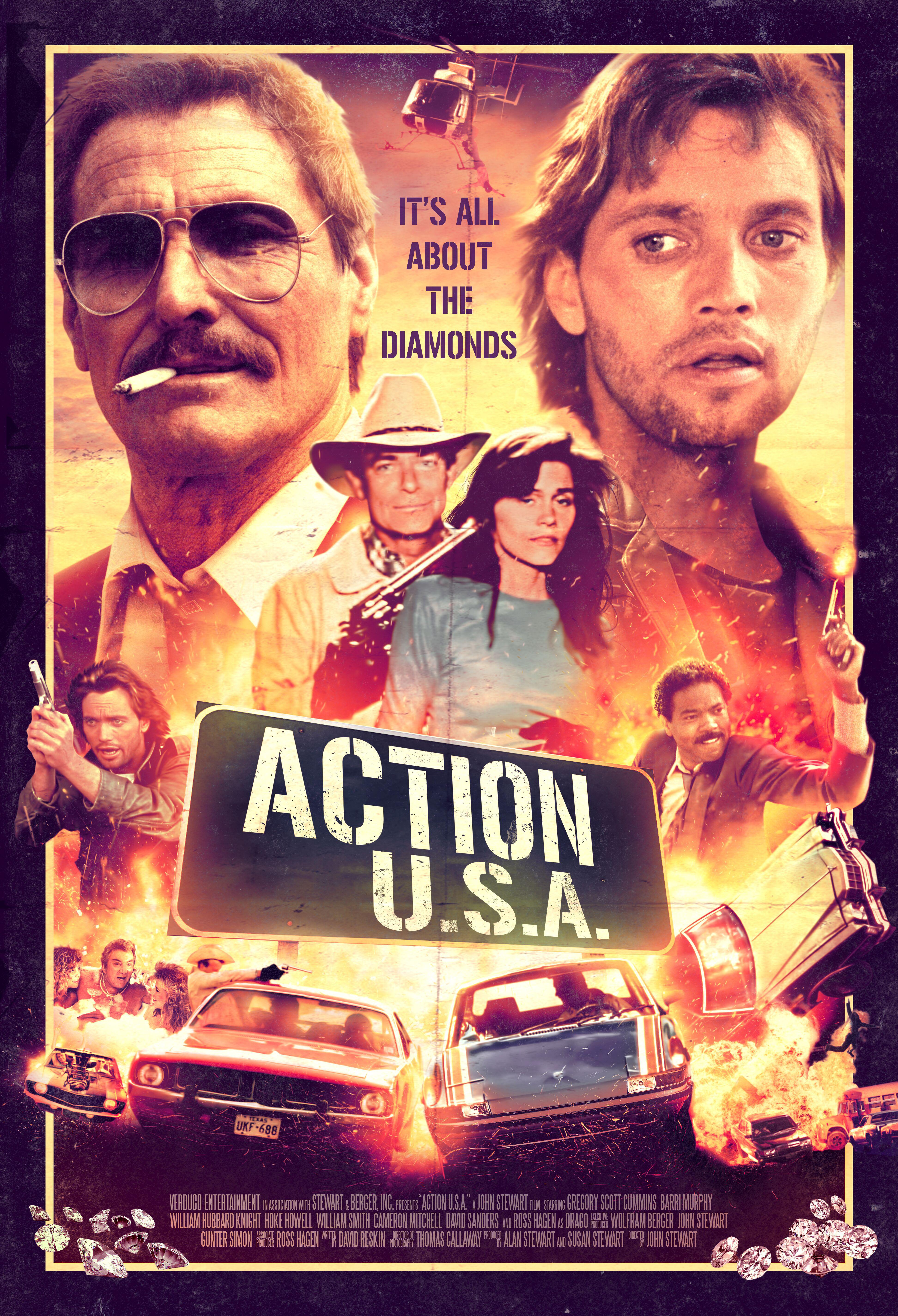 Poster for Action U.S.A. (4K Restoration)