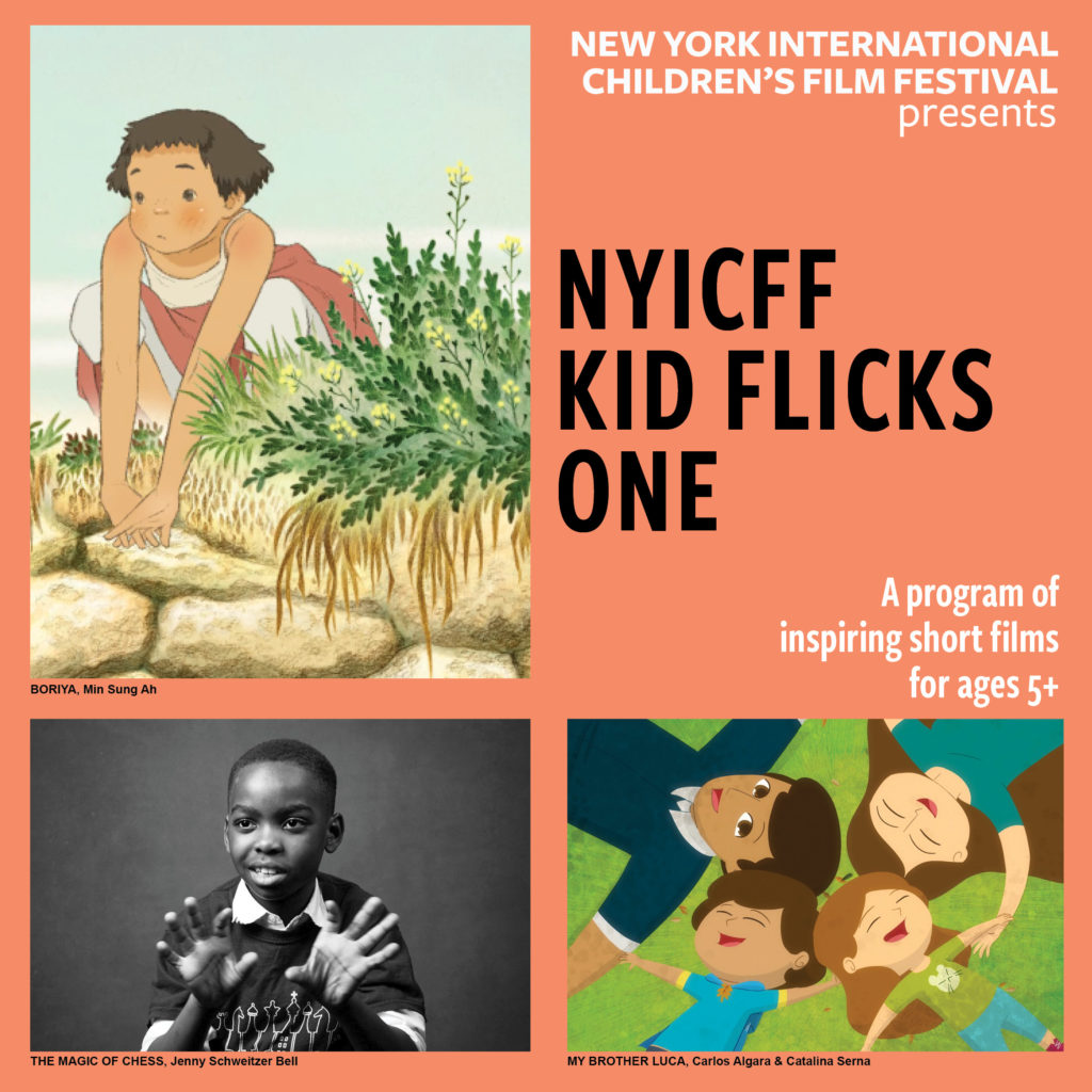 Poster for NYICFF Kid Flicks One 2020 (Target age 3-7)