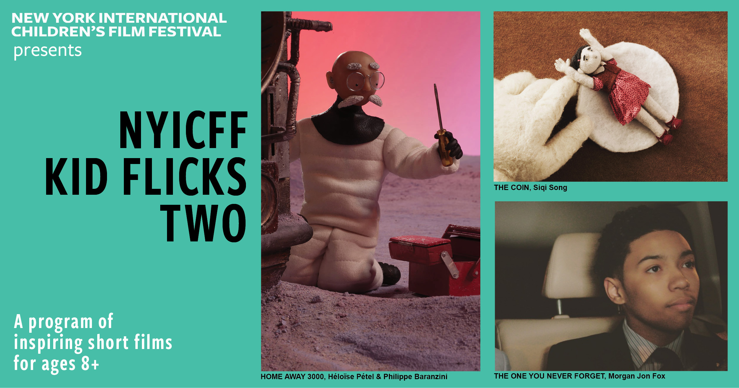 Poster for NYICFF Kid Flicks Two 2020 (Target age 8+)