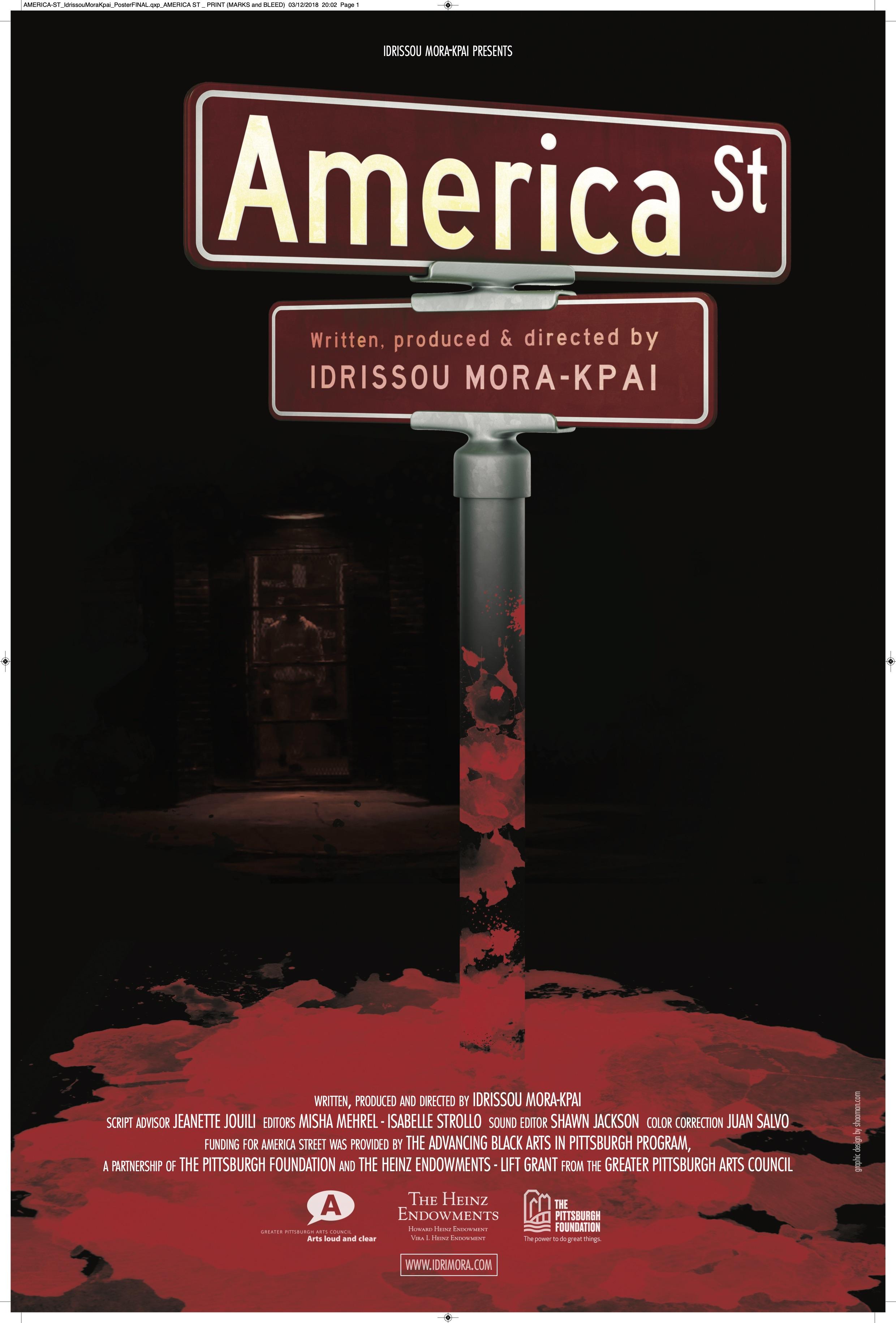Poster for America Street (2020)