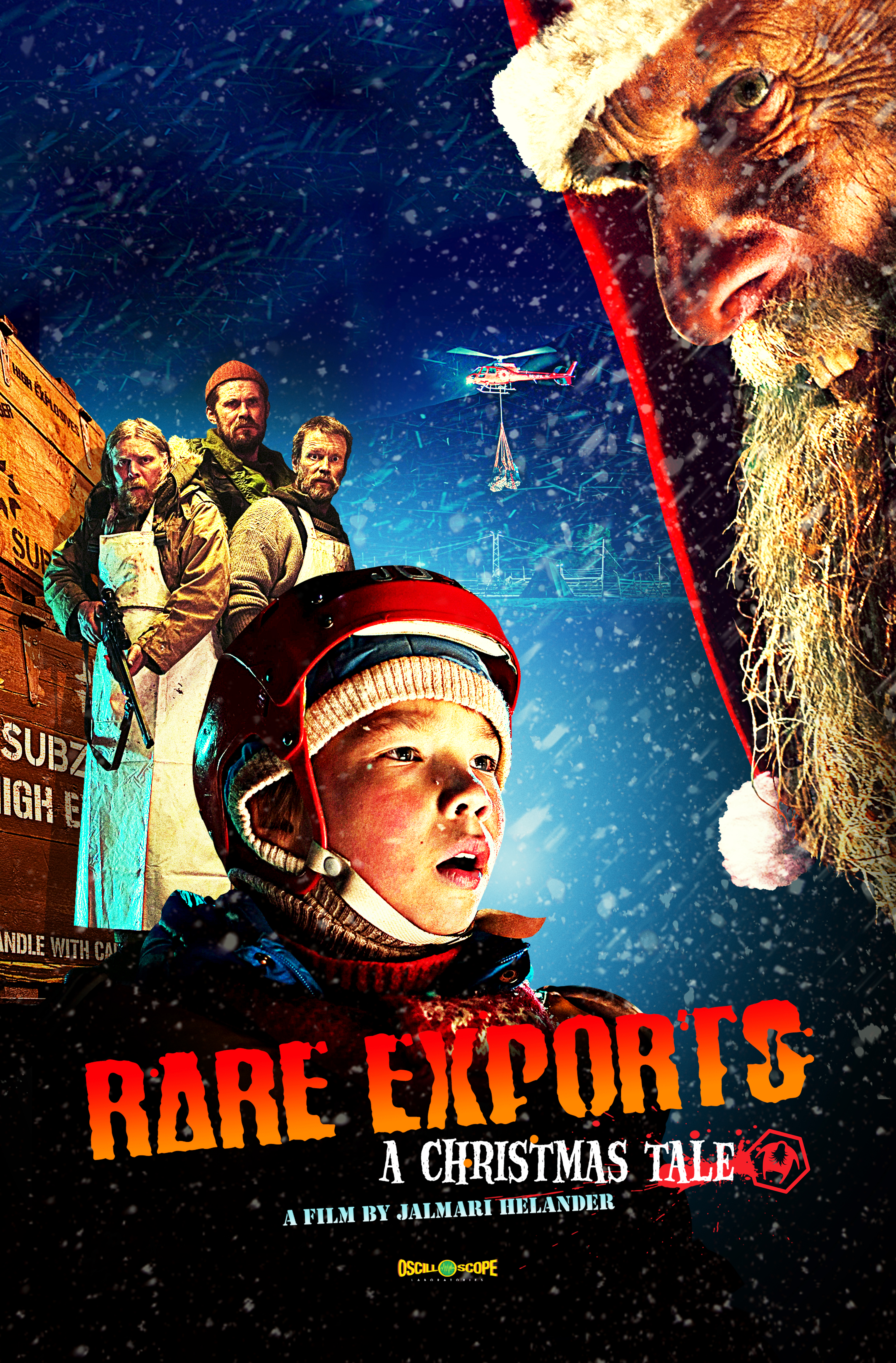 Poster for Rare Exports: A Christmas Tale