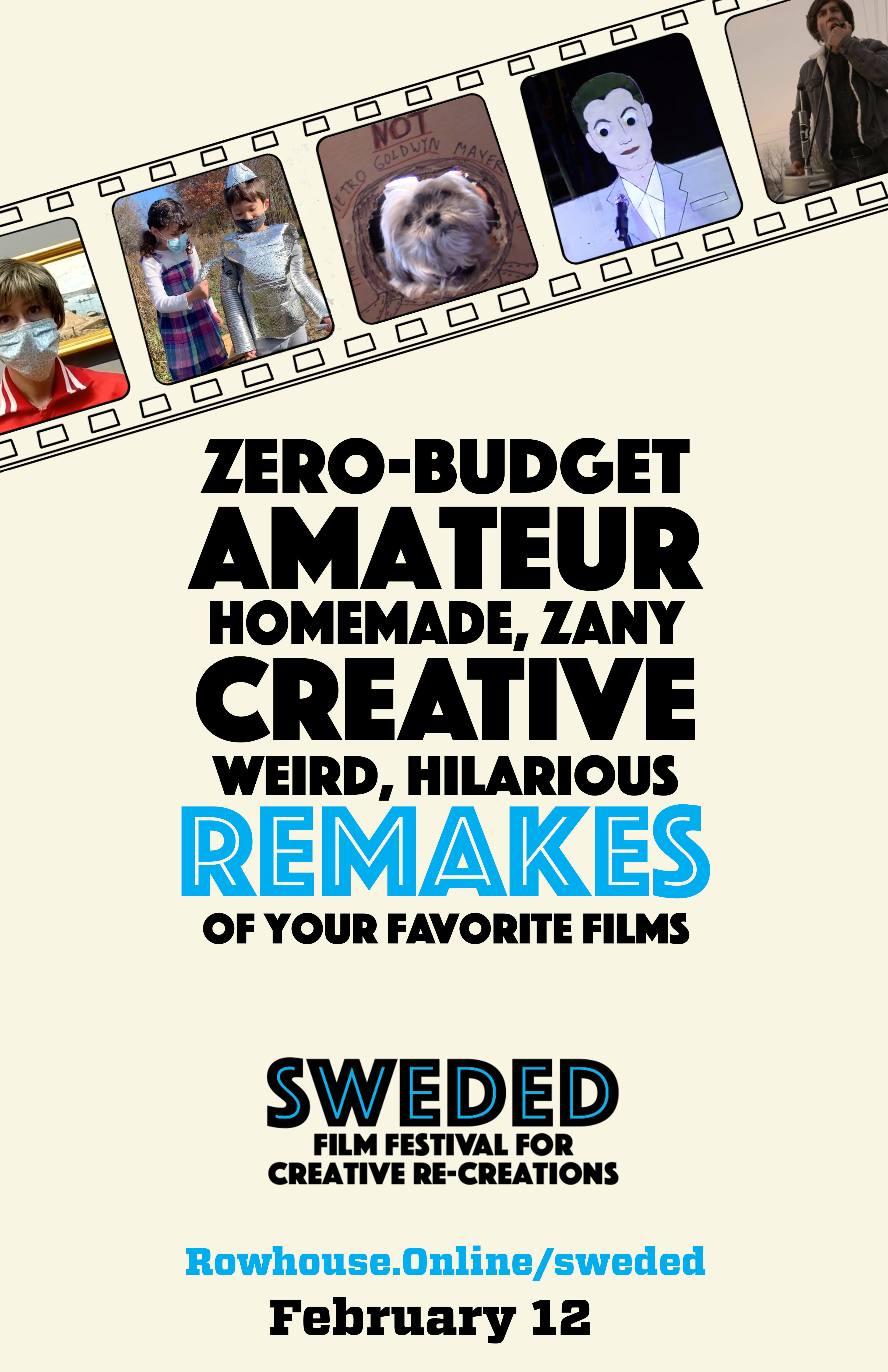 Poster for The Fourth Annual Sweded Film Festival