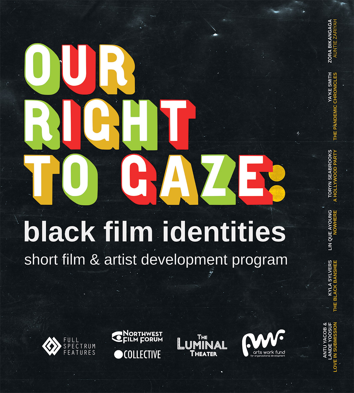Poster for Our Right to Gaze