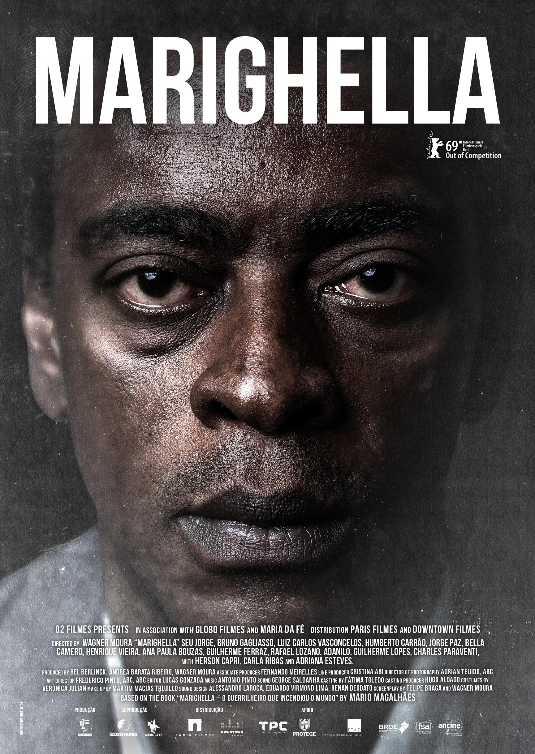Poster for Marighella