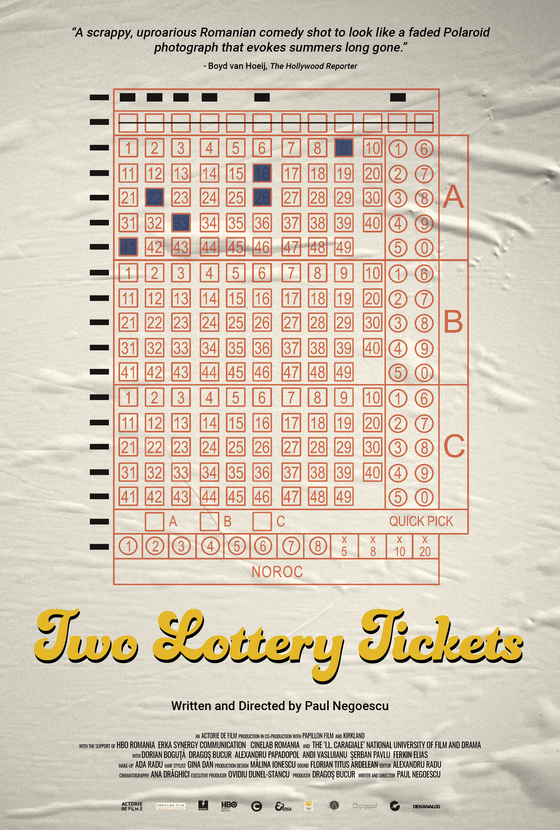 Poster for Two Lottery Tickets