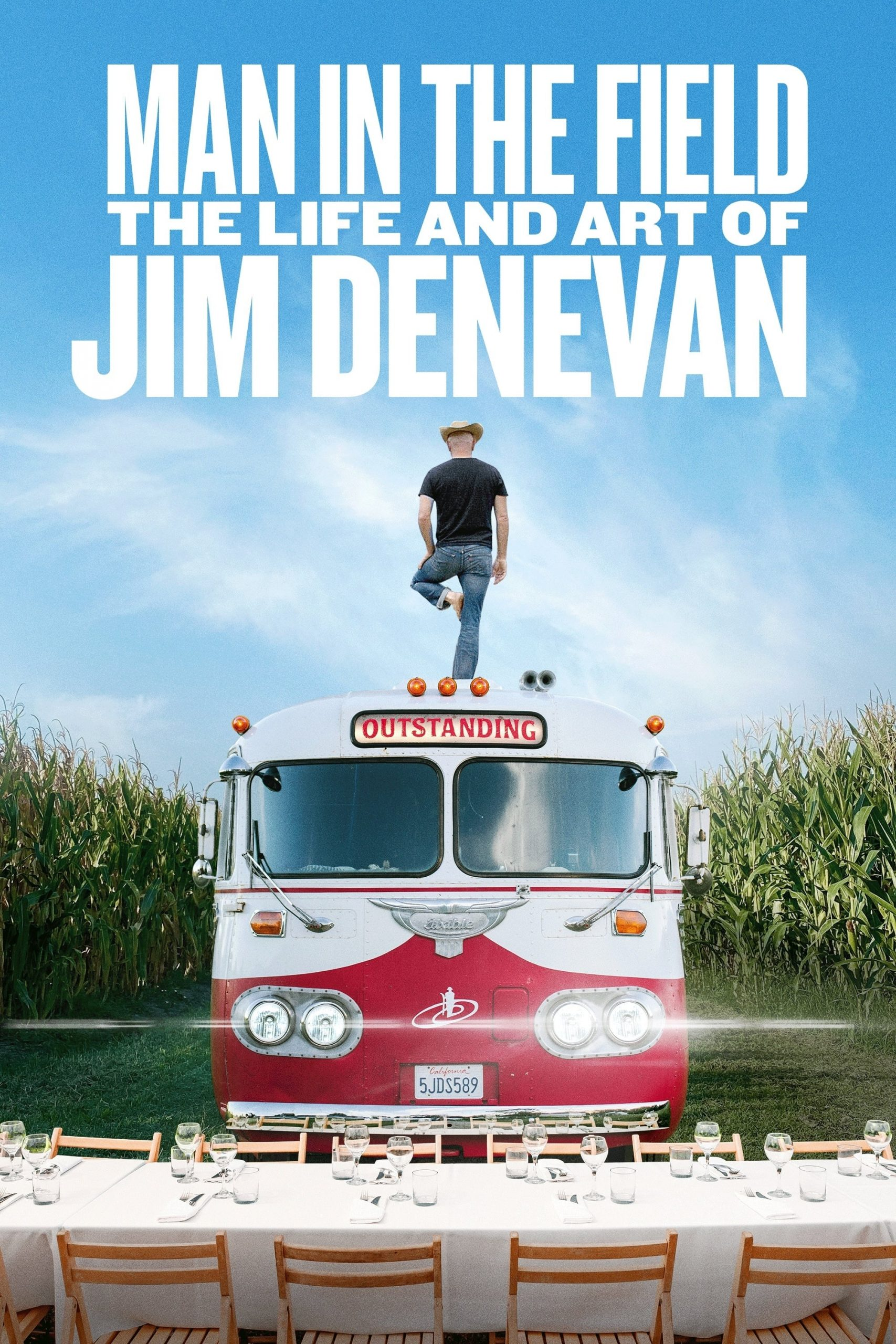 Poster for Man in the Field: The Life and Art of Jim Denevan