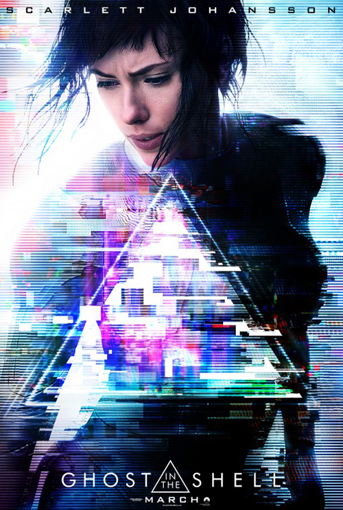 Poster for Ghost in the Shell
