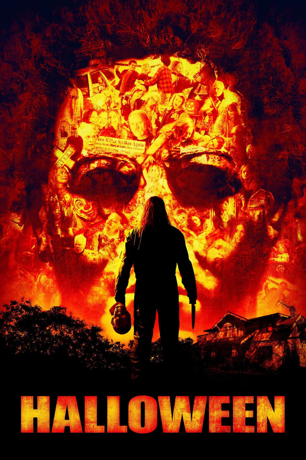 Poster for Halloween (2007)