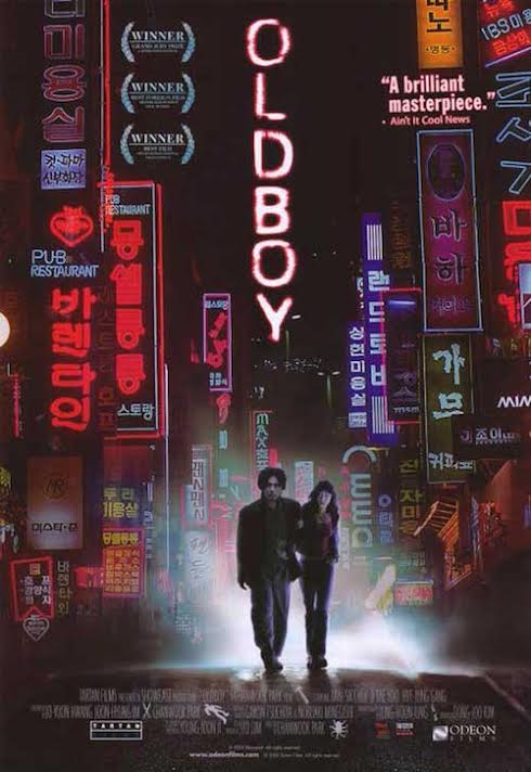 Poster for Oldboy (2003)