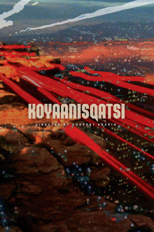 Poster for Koyaanisqatsi