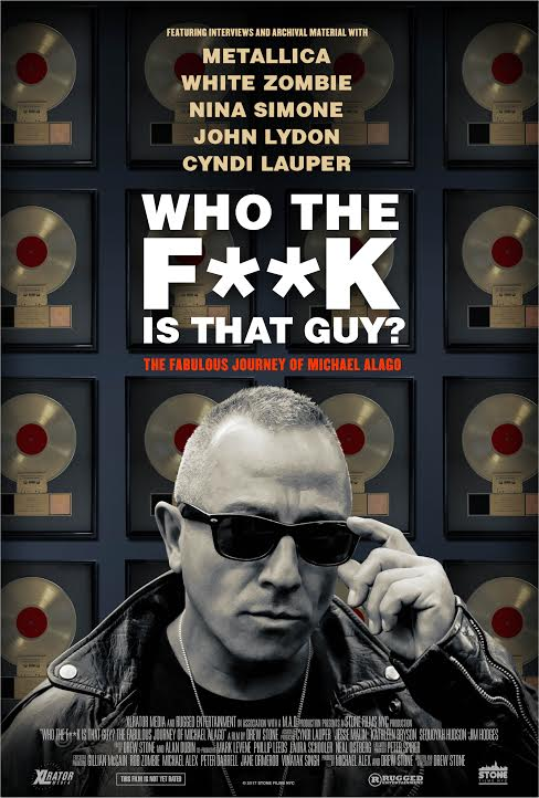 Poster for Who The F**k is That Guy? The Fabulous Journey Of Michael Alago