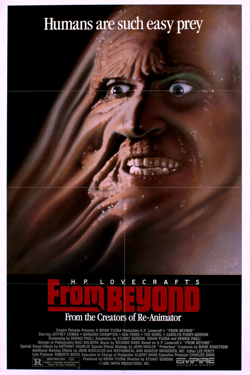 Poster for From Beyond