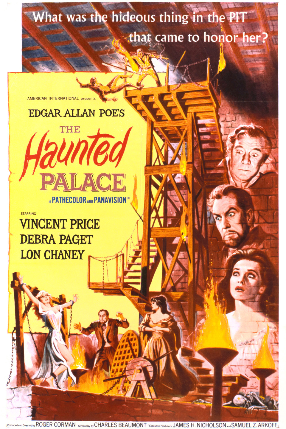 Poster for The Haunted Palace