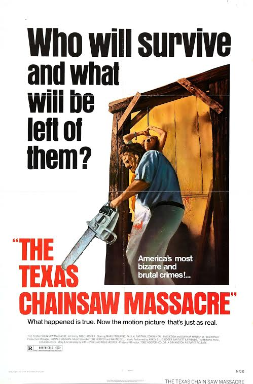 Poster for The Texas Chainsaw Massacre