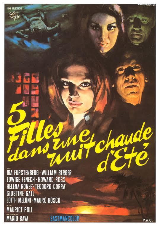 Poster for Five Dolls For An August Moon