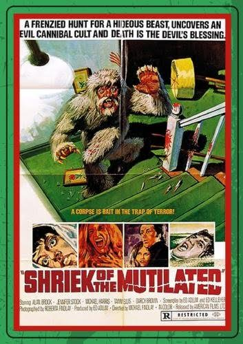Poster for Shriek of the Mutilated