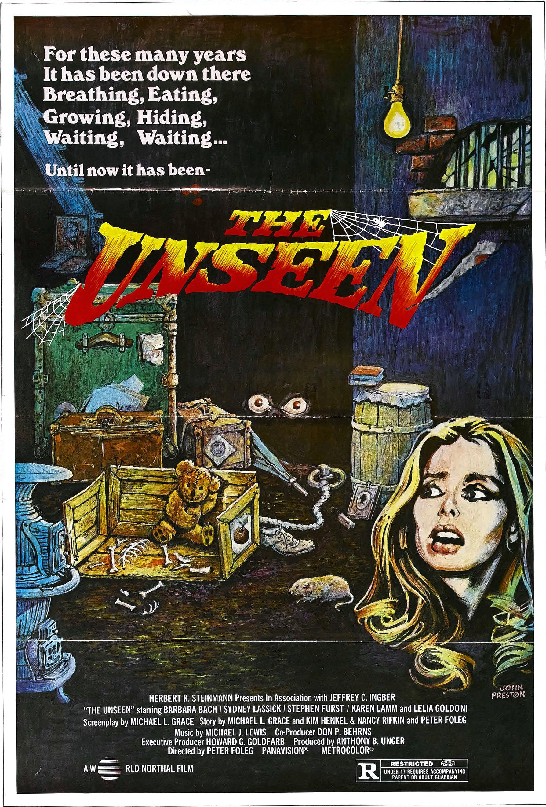 Poster for THE UNSEEN