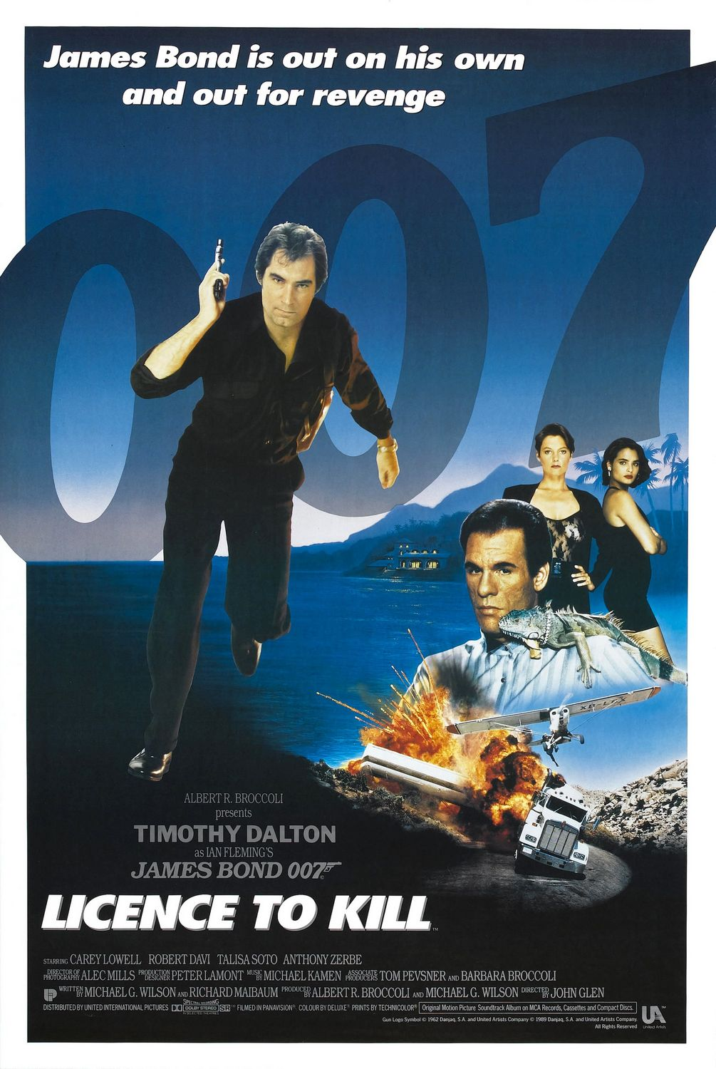 Poster for License to Kill