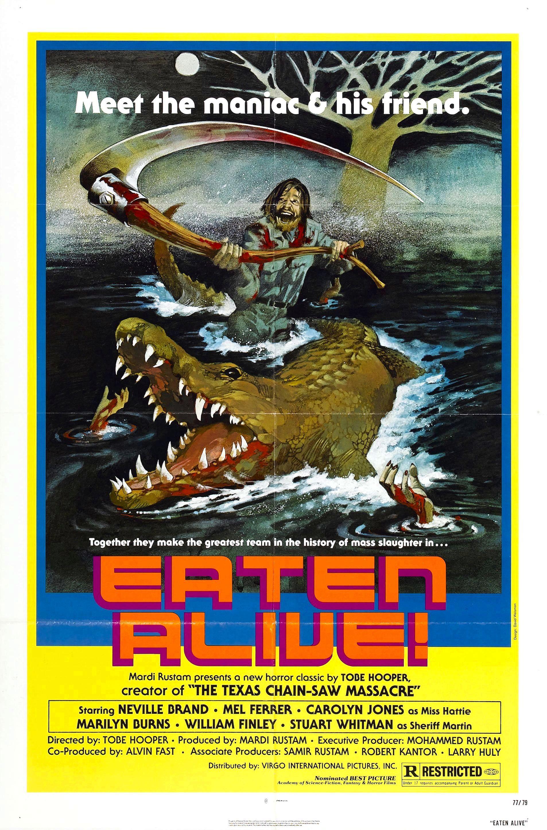 Poster for Eaten Alive